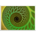 Abstract Art - Psychedelic Worm Hole Poster